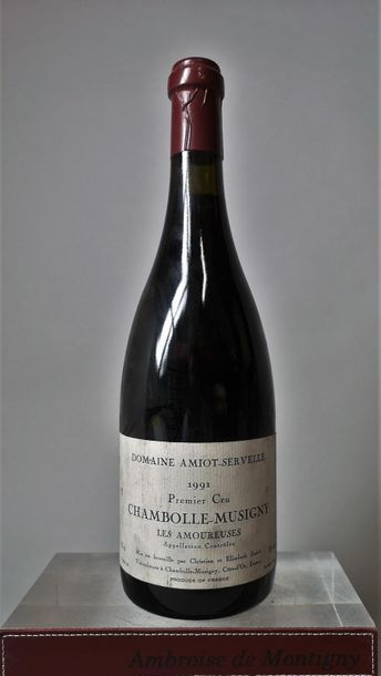 1 BOUTEILLE CHAMBOLLE MUSIGNY - 1er cru