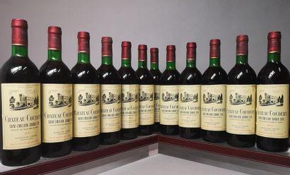 12 bouteilles CHÂTEAU COUDERT, Saint Emilion...
