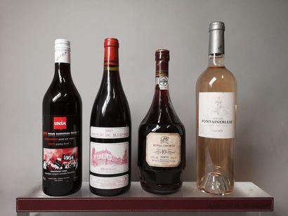 4 bouteilles VINS DIVERS A VENDRE EN L'ETAT...