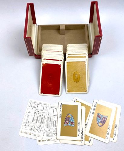 CARTIER (Les Must de).  Deux jeux de cartes...
