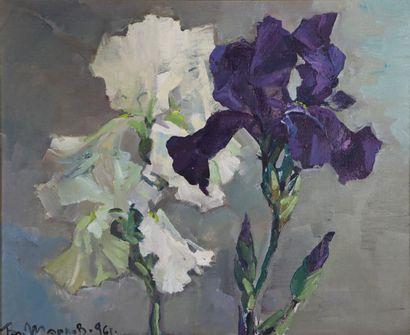Vladimir MARKOV, peintre russe.  Le clair...