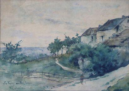 François LETEURTRE (1882-1958).  La Fosse...