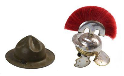 Réduction de chapeau, modèle américain 1917...