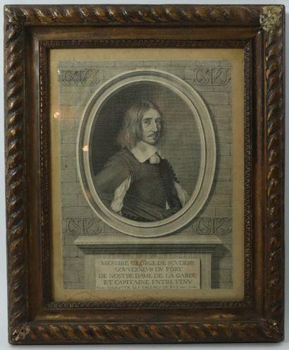 Robert NANTEUIL (1623-1678).  Portrait de...