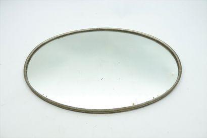 Surtout de table en métal argenté, à fond...
