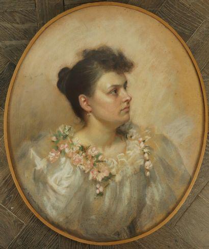 Léon-Emile JARDON (né en 1862).  Portrait...