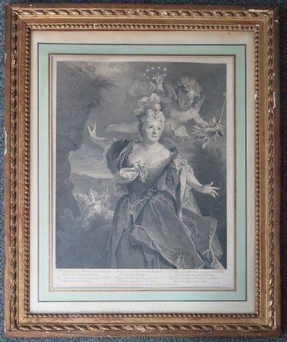 Louis DESPLACES (1682-1739), d'après Nicolas...