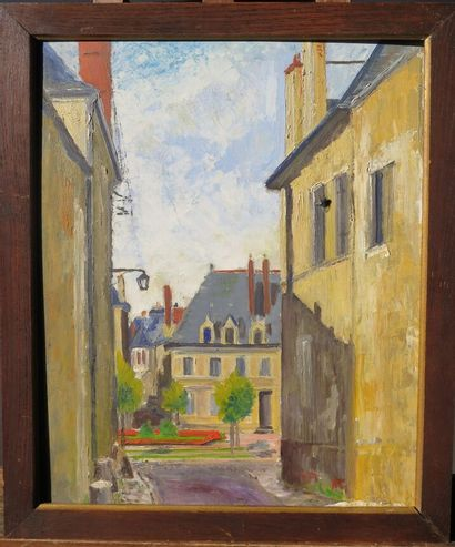 Georges BOUTET-MONTCHANIN (1924-1997)  Nevers,...
