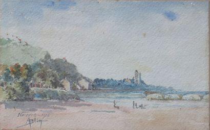 Aimé BLIN (1872-1944).  Nevers, depuis le...