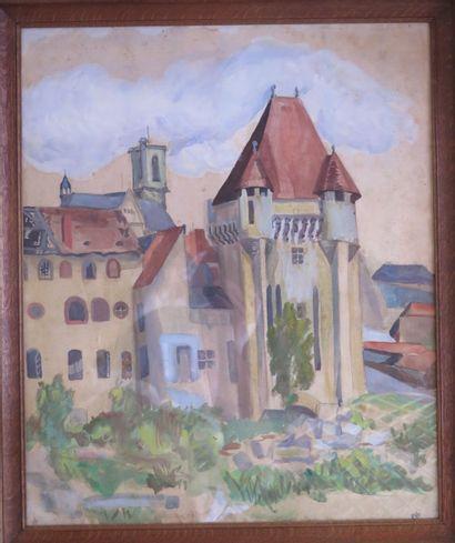 Ecole nivernaise du XXème siècle.  Nevers,...