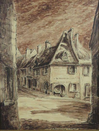Georges BORDESSOL-GRESSOT.  La Charité-sur-Loire,...