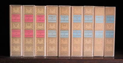 LA FONTAINE (Jean de).  Contes et fables....