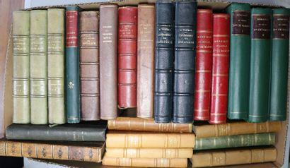 [NAPOLEON].  Ensemble de 30 volumes comprenant...