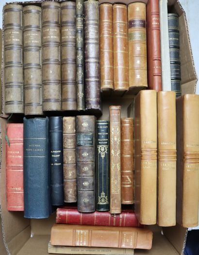 [LITTERATURE].  Carton contenant 26 ouvrages...