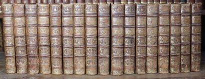 Oeuvres de Plutarque.  17 volumes, in-8....