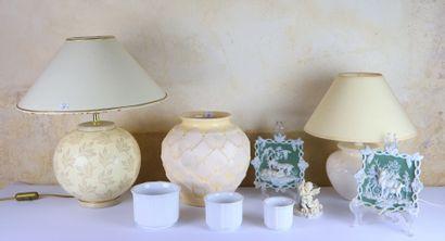 Ensemble d'objets de décoration comprenant...