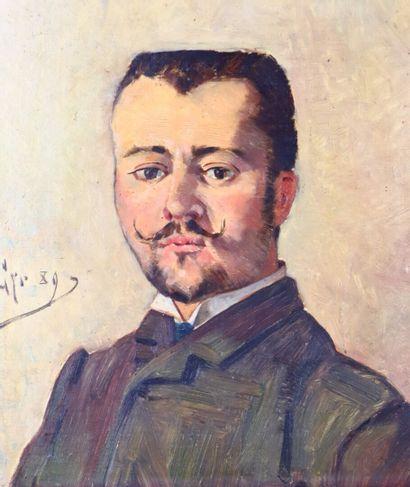 Jean Clément CYR DEGUERGUE (1863-1935)  Portrait...