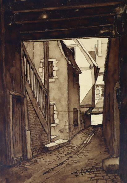 Georges TARDY (1885-1980).  Cosne-sur-Loire....