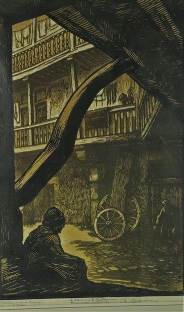 Fernand CHALANDRE (1879-1924).  Hôtellerie...