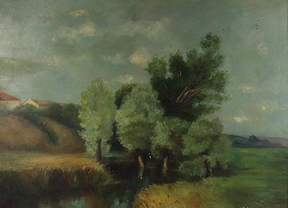 Paul-Adrien BOUROUX (1878-1967), attribué...