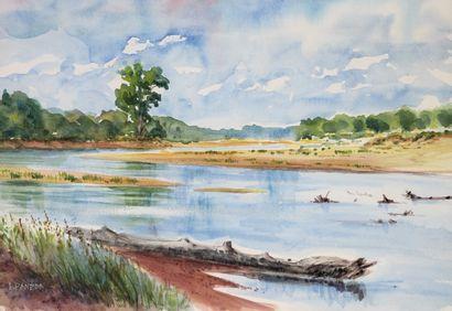 Antoine PANEDA (1929).  L'Epave en Loire....