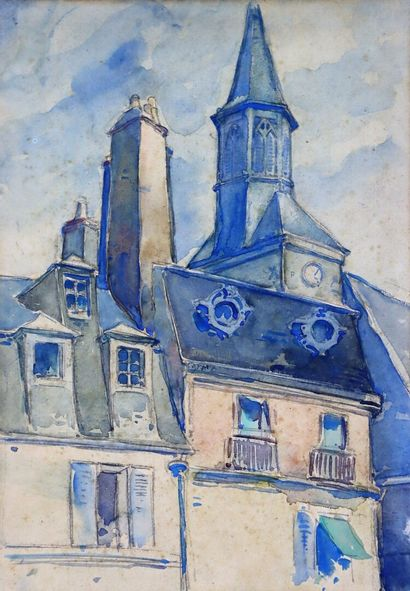 Fernand CHALANDRE (1879-1924).  Nevers, le...