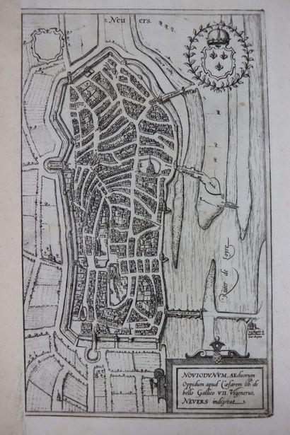 Georg BRAUN (1541-1622) & Frans HOGENBERG (1535-1590).  Noviodunum Aeduorum Oppidum...