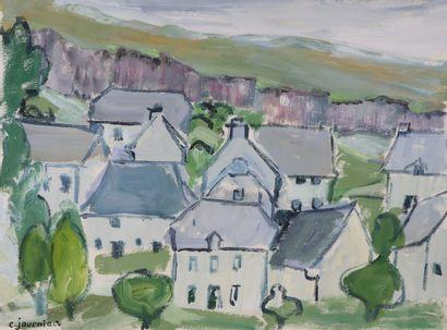 Colette JOURNIAC (1929-2005).  Les maisons....