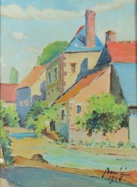 Hippolyte BOULE (1884-1974).  La ferme du...