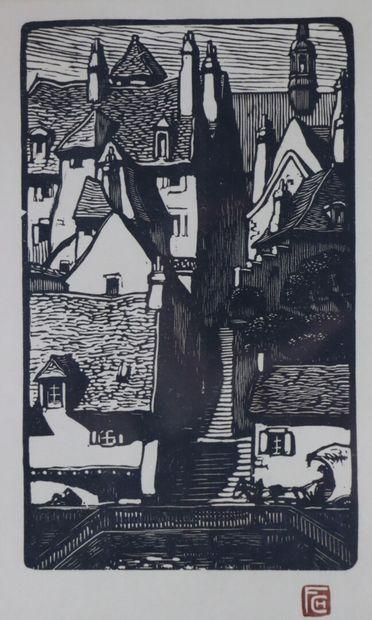Fernand CHALANDRE (1879-1924).  Nevers, la...