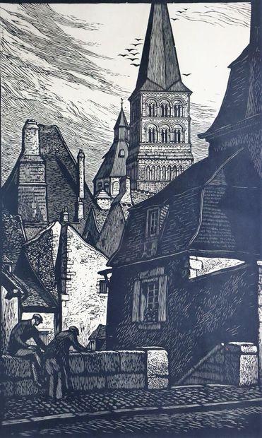 Fernand CHALANDRE (1879-1924).  La Charité-sur-Loire,...