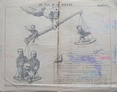 François BARILLET (1849-1911).  Les élus...