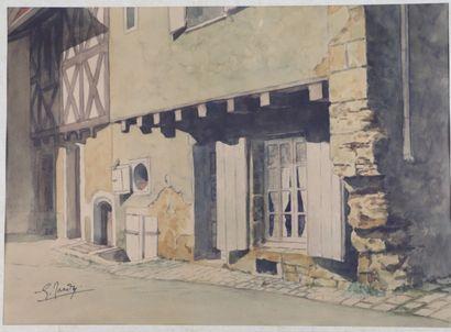 Georges TARDY (1885-1980).  NEVERS, 161 quai...