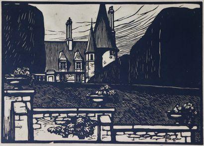 Fernand CHALANDRE (1879-1924).  Square Foch...