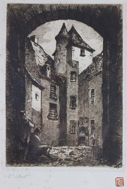 Fernand CHALANDRE (1879-1924).  le château...