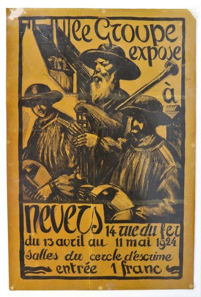 Fernand CHALANDRE (1879-1924).  Affiche pour...