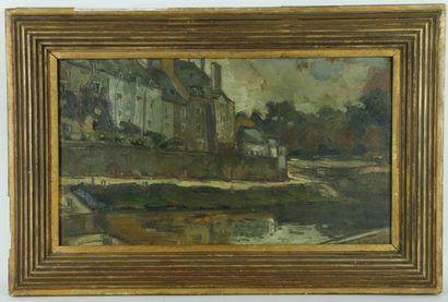 Jean-Henri GROMOLARD (1888-1953).  Vue de...