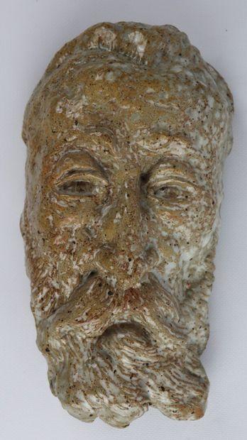 Pierre MIRAULT (1899-1982).  Masque d'Anatole...