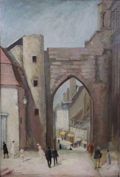 Arduido COLATO (1880-1954).  La Charité-sur-Loire....