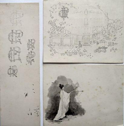 Jean Clément CYR DEGUERGUE (1863-1935).  Muse...