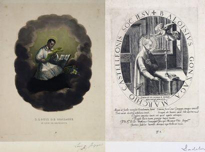 Justus SADELER (1572?-1620?).  Saint-Louis...