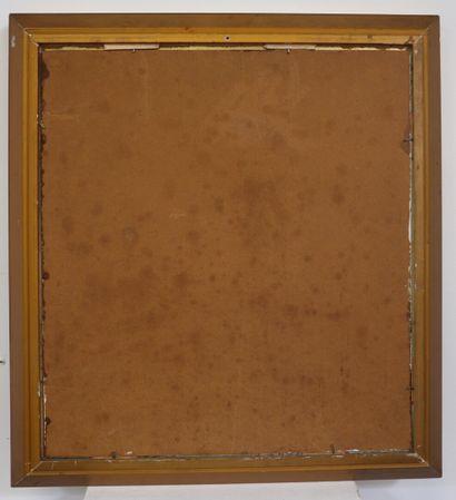 Michel BESZIE (né en 1940).  Les peupliers.  Huile sur panneau, signée en bas à...