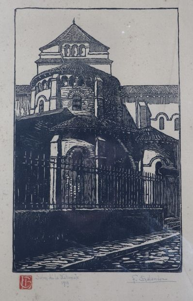 Fernand CHALANDRE (1879-1924).  L'Abside...