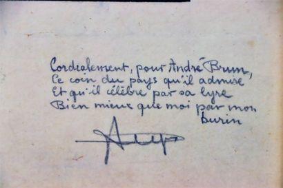 André CARROY (1910-1975).  La Charité sur Loire.  Gravure en noir, monogrammée en...