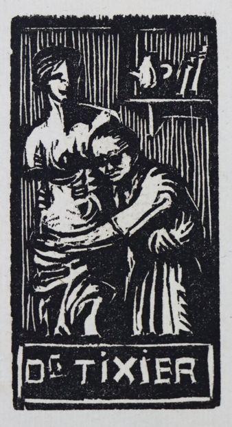 Fernand CHALANDRE (1879-1924).  Ex-libris...