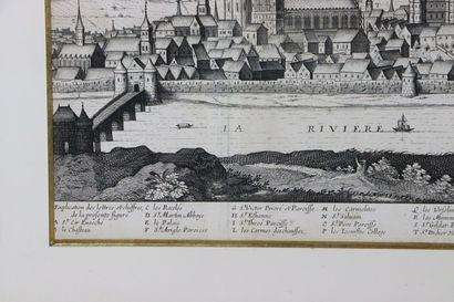 Jean BOISSEAU (mort en 1657).  Aspect de la ville episcopalle de Nevers capitalle...