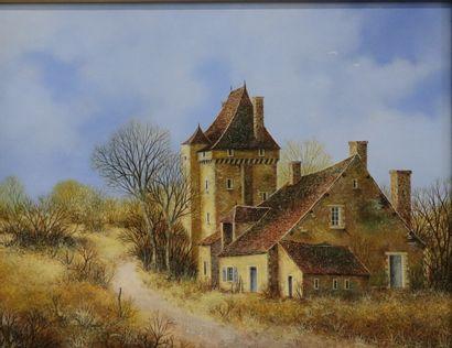 Pierre CHARPENTIER (né en 1950).  Le château...