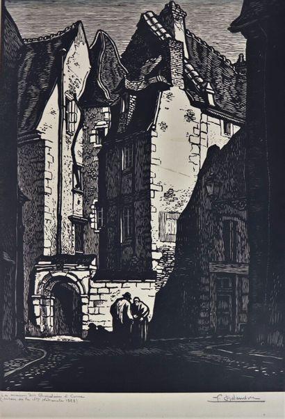 Fernand CHALANDRE (1879-1924).  La maison...