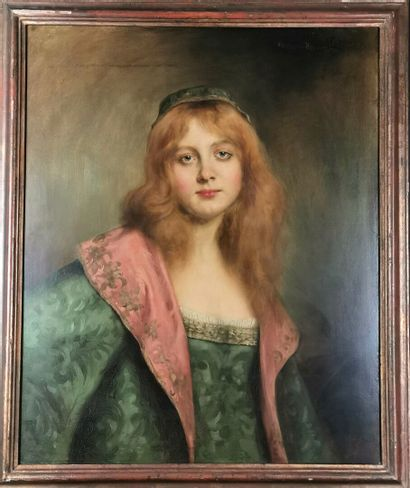 Paul Louis MESTRALLET (1886 - ?)  Portrait...