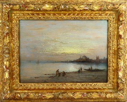 LAMOIS (actif au XIXème siècle).  Le Bosphore....